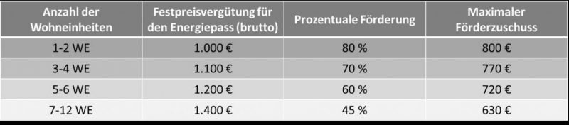 INFENSA-Hamburger-Energiepass-Tabelle